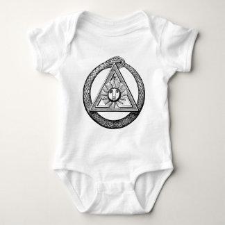 Freemasonry All Seeing Eye Masonic Symbol Infant Creeper