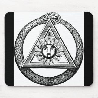 Freemasonry All Seeing Eye Masonic Symbol Mouse Pad