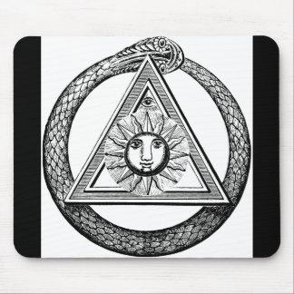 Freemasonry All Seeing Eye Masonic Symbol Mouse Pads