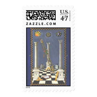 Freemasonry Blue Lodge Trestle Board Stamps