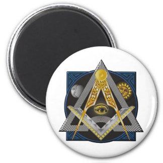 Freemasonry Emblem Magnet