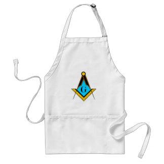 Freemasonry Freemason symbol square compass mystic Adult Apron