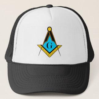 Freemasonry Freemason symbol square compass Trucker Hat