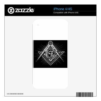Freemasonry-Masonic-Masonry Decals For iPhone 4