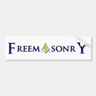 FreemasonrY Pegatina Para Auto