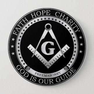 Freemasonry seal button