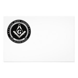 Freemasonry seal flyer