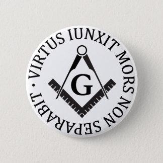 Freemasonry sign button