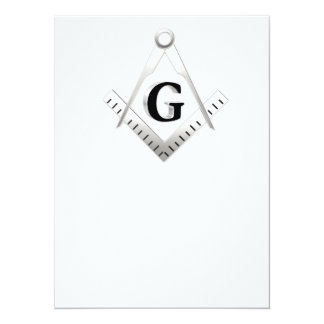 Freemasonry sign invites