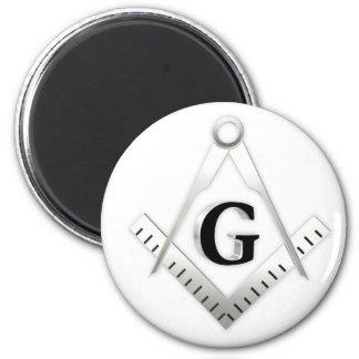 Freemasonry sign magnet