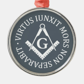 Freemasonry sign metal ornament