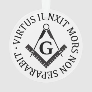 Freemasonry sign ornament