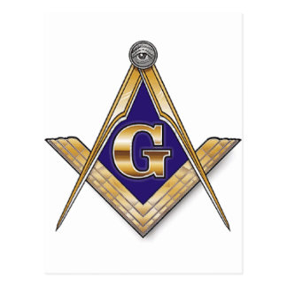 Freemasonry Stationary Postcard