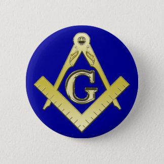 Freemasonry Symbol Button