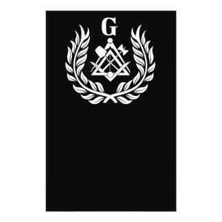Freemasonry symbol flyer