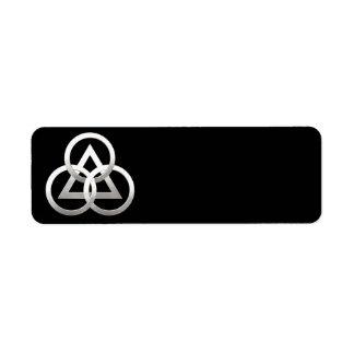 Freemasonry symbol label