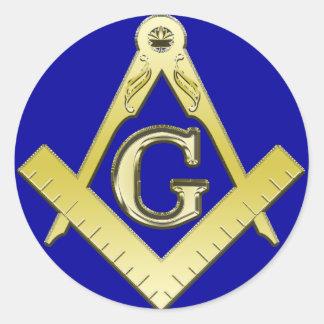 Freemasonry Symbol Sticker