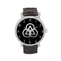 Freemasonry symbol wristwatch
