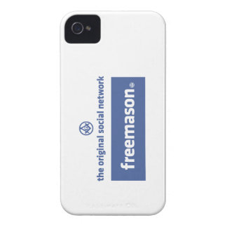 Freemasonry, the original social network. Facebook Case-Mate iPhone 4 Case