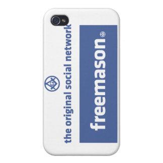 Freemasonry, the original social network. Facebook iPhone 4 Case