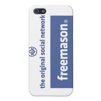 Freemasonry, the original social network. Facebook iPhone 5 Case