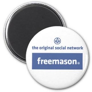 Freemasonry, the original social network. Facebook Magnets