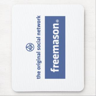 Freemasonry, the original social network. Facebook Mouse Pad