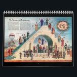 "Freemasonry Trestle Board Calendar<br><div class=""desc"">Masonic Degree Trestle Boards</div>"