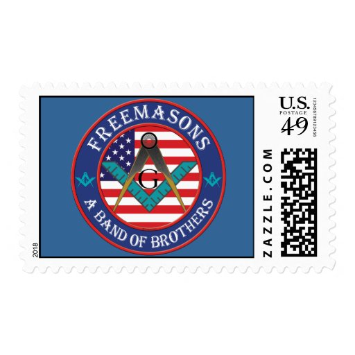 Freemasons. A Band of Brothers Stamp