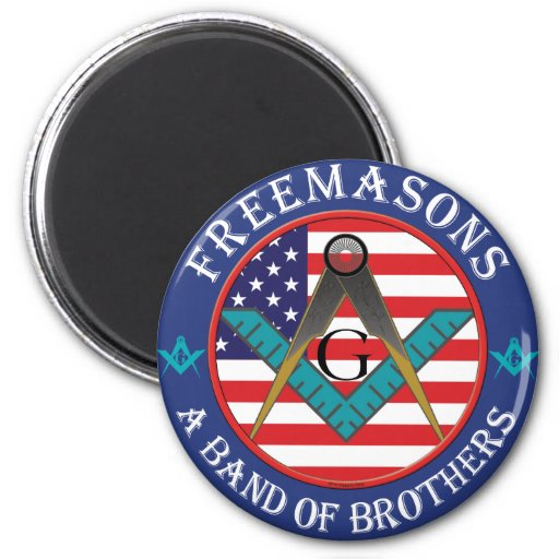 Freemasons - Band of Brothers 2 Inch Round Magnet