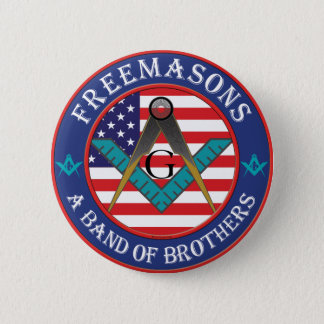 Freemasons - Band of Brothers Button