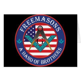 Freemasons - Band of Brothers Greeting Card