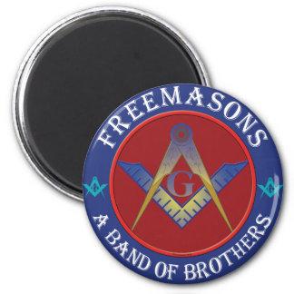 Freemasons Band Of Brothers Refrigerator Magnets