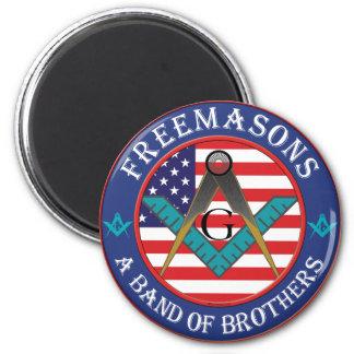 Freemasons - Band of Brothers Fridge Magnets
