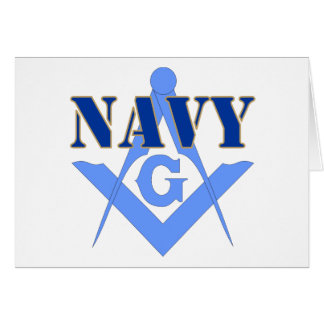 Freemasons in the Navy Greeting Card