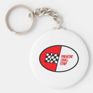 Freemont Drag Strip Basic Round Button Keychain
