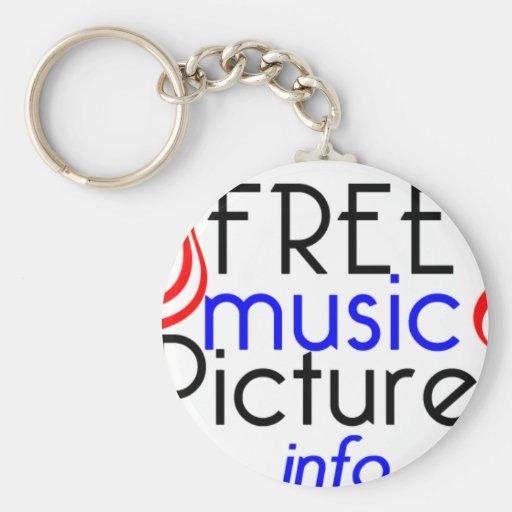 FreeMusicPictures Key Chain