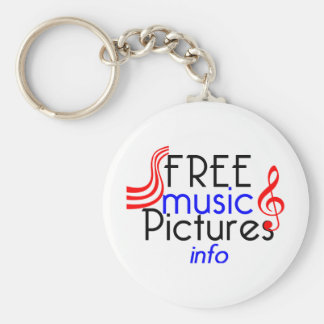 FreeMusicPictures Keychain