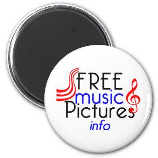 FreeMusicPictures Magnet