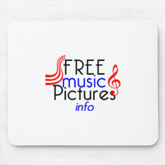 FreeMusicPictures Mouse Pad