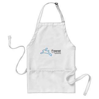 Freenet Bunny and Name Adult Apron