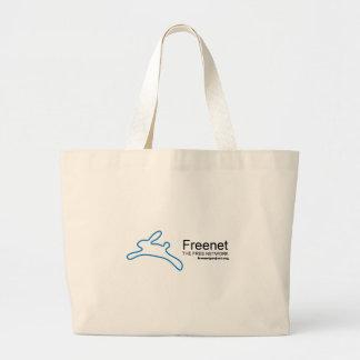 Freenet Bunny and Name Tote Bag