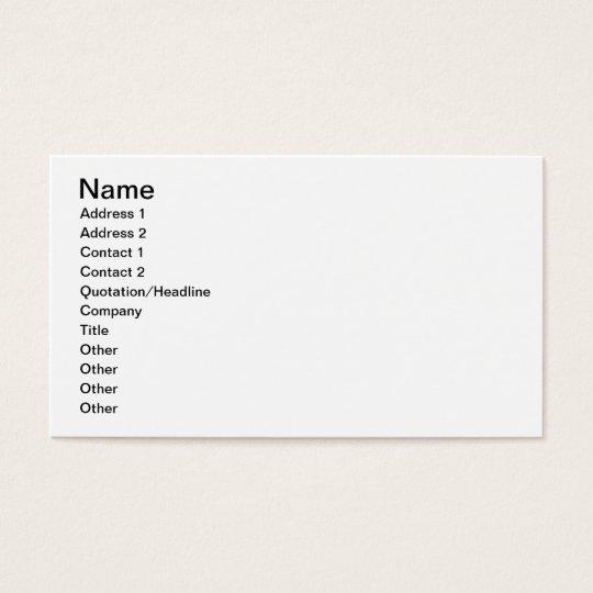 Freenet Bunny Business Card