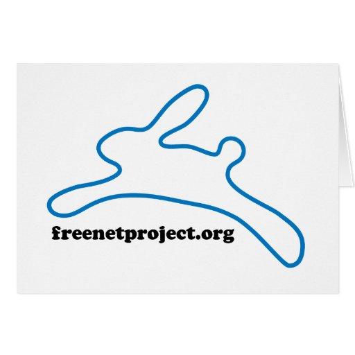Freenet Bunny Card