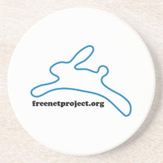 Freenet Bunny Drink Coaster