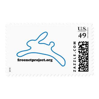 Freenet Bunny Postage Stamp