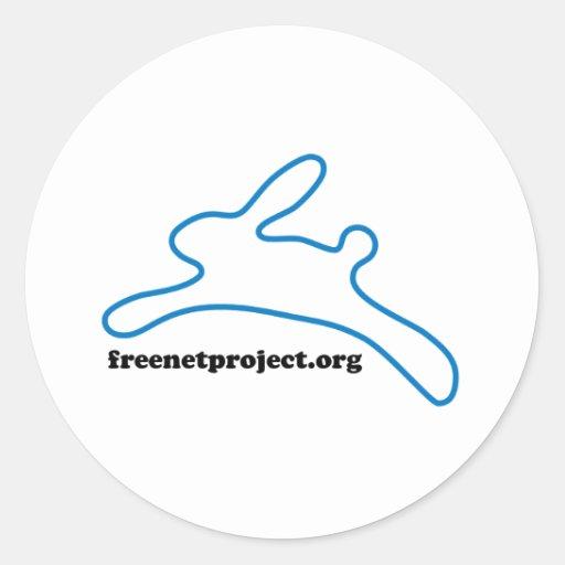 Freenet Bunny Sticker