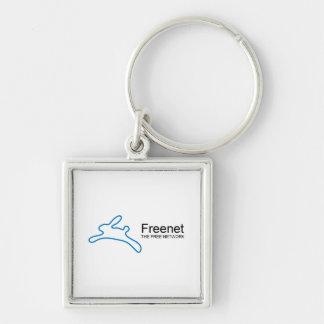 Freenet Bunny Text Keychain