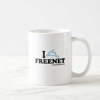 Freenet del conejito tazas