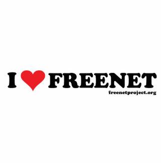 Freenet del corazón - De largo Fotoescultura Vertical